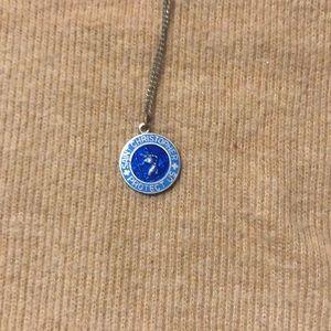 Vintage Saint Christopher necklace